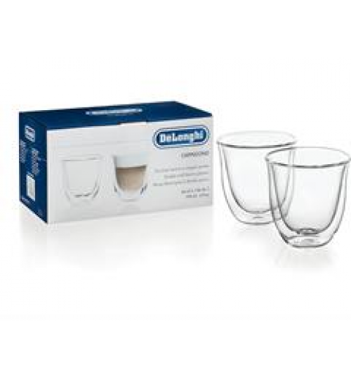 Delonghi Double Walled Espresso Cups - set of 2 cups