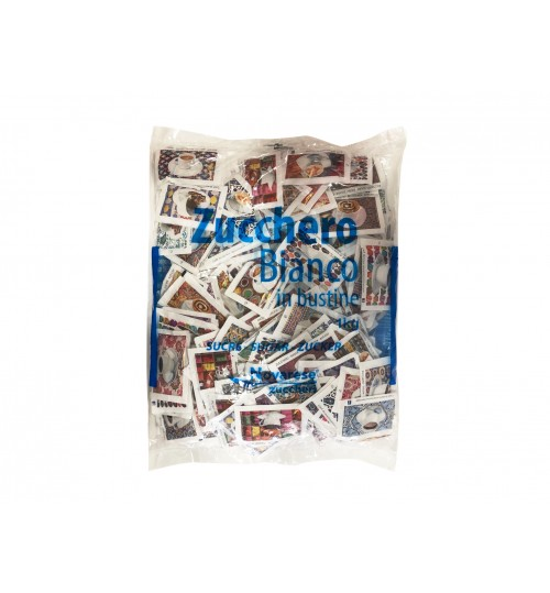 Sugar Packettes - 1kg (Approx. 200 individual packettes)