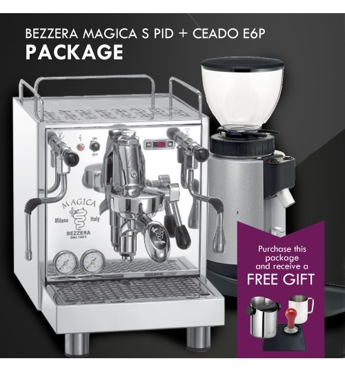 *COMBO PACKAGE* - BEZZERA Magica S E61 PID & CEADO E6P COMBO PACKAGE