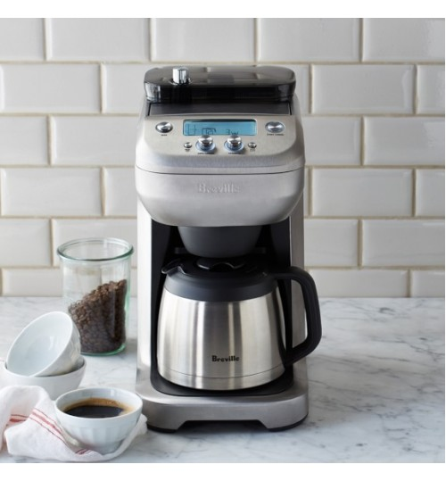 BREVILLE - The Grind Control Drip Coffee Maker with Built-in Grinder