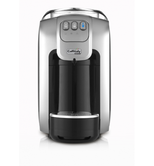 CAFFITALY - S07 Capsule Machine (Black/Silver)