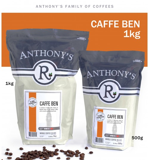 ANTHONY'S - Ben 1kg Whole Beans