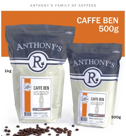 ANTHONY'S - Ben 500g Whole Beans