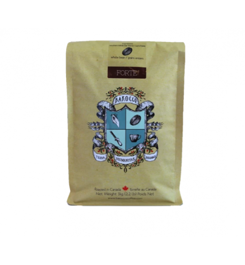 BAROCCO - Forte Whole Bean Coffee 1KG