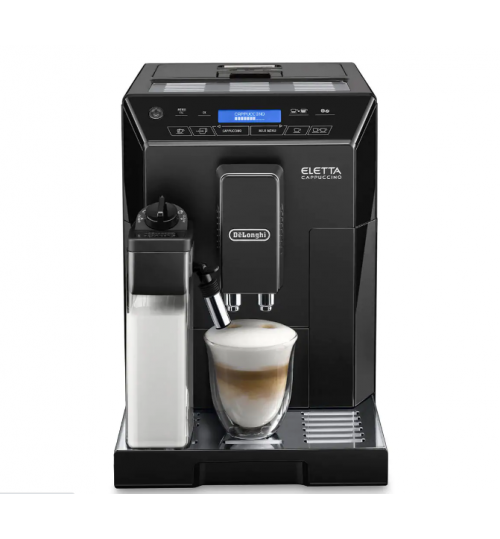 DELONGHI - Eletta Black [ONE LEFT] Automatic Espresso Machine, Cappuccino Maker - ECAM44660B