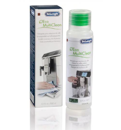 DELONGHI - Eco Multiclean [Milk Cleaner] Coffee and Espresso Machine Cleaning Solution, 8.5 oz - DLSC550