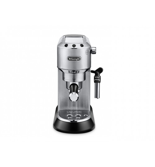 DELONGHI - Dedica Deluxe Manual Espresso Machine, Cappuccino Maker - STAINLESS STEEL - EC685M