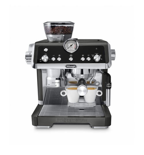 DELONGHI - La Specialista BLACK [ONE LEFT] Espresso Machine with Sensor Grinder & Dual Heating System, Stainless Steel - EC9335BK