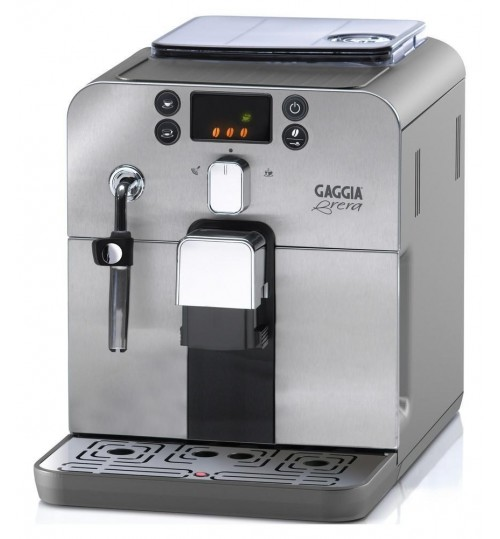 GAGGIA - Brera  (Stainless Steel) [INCLUDES 4 year warranty FREE!) Super Automatic Espresso Machine