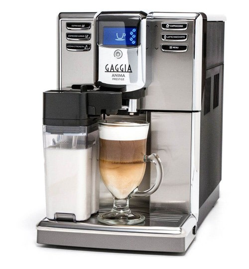 GAGGIA - Anima Prestige SS OTC (OUT OF STOCK) One Touch Espresso, Cappuccino & Latte Machine Made in Italy