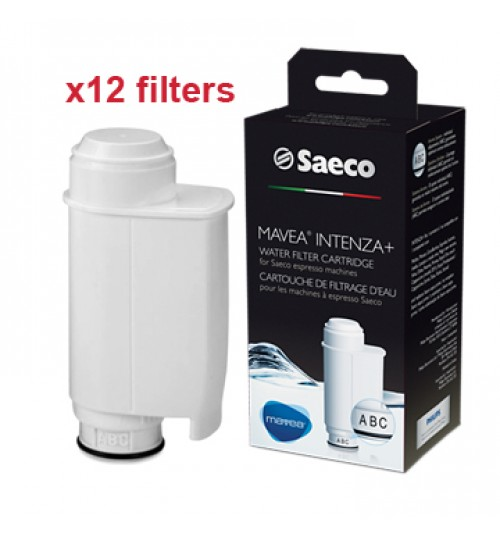 SAECO / PHILIPS -  Water Filter MAVEA INTENZA+ [x12 filters WEB EXCLUSIVE]