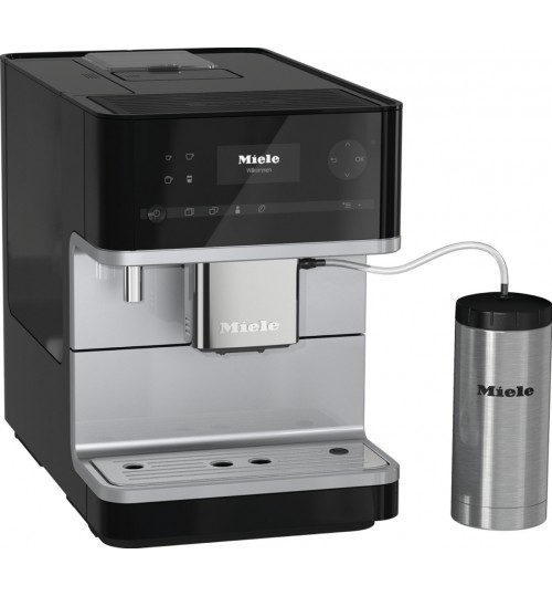 MIELE - CM6350 OBSW Countertop coffee machine With OneTouch for Two *NEW * Obsidian Black