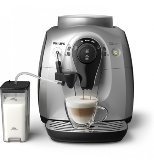 PHILIPS - 2100 Easy Cappuccino & Espresso Machine SILVER AMF, HD8652/14. 1 YEAR WARRANTY