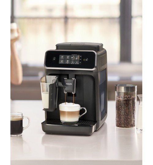 PHILIPS - 2200 LatteGo Series EP2230/14 [IN STOCK]  Automatic Espresso & Cappuccino, Matte Black  **FREE BAG OF COFFEE WITH PURCHASE**