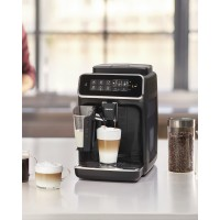 PHILIPS - 3200 LatteGo EP3241/54  [OUT OF STOCK] - Fully Automatic Espresso, Cappuccino & Latte Machine, Glossy Black *NEW*, 2 YEAR WARRANTY