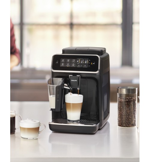 PHILIPS - 3200 LatteGo EP3241/54  [IN STOCK] Fully Automatic Espresso, Cappuccino & Latte Machine, Glossy Black *NEW*, 2 YEAR WARRANTY