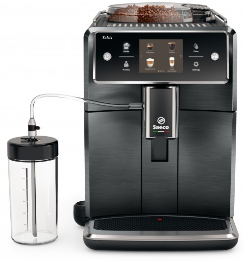 SAECO [SOLD OUT] Xelsis Titanium Metal Automatic Espresso & Cappuccino Machine,  SM7684/04, 2 YEAR WARRANTY