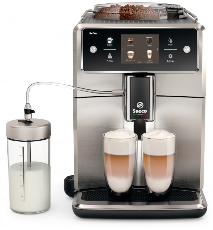 Saeco Xelsis Automatic Espresso Machine Full Stainless Steel
