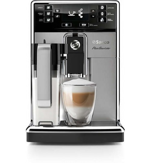 SAECO - PicoBaristo Carafe [A FEW LEFT-LIMITED QUANTITY] Stainless Steel Super-Automatic Espresso & Cappuccino Machine, HD8927/47