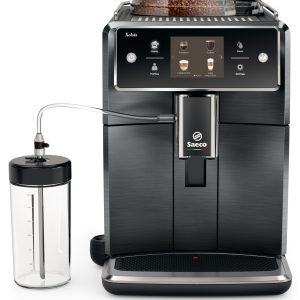 SAECO - Xelsis Titanium Metal [BACK IN STOCK] Automatic Espresso & Cappuccino Machine,  SM7684/04, 2 YEAR WARRANTY