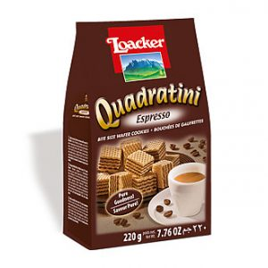 LOACKER - Espresso Quadratini Wafers
