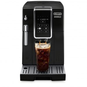 Delonghi Dinamica BLACK [3 YEAR WARRANTY] Automatic Coffee & Espresso Machine with Iced Coffee, TrueBrew Over Ice - ECAM35020B