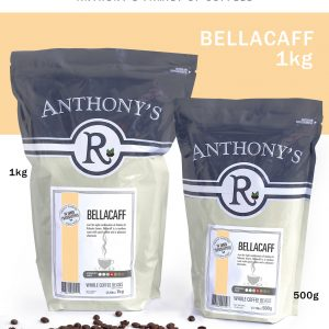 ANTHONY'S - Bellacaff 1kg Whole Beans [ROASTED FRESH EVERY WEEK]