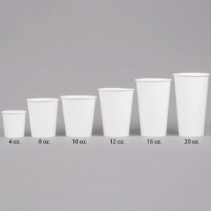 4oz WHITE Paper Cups (1 sleeve of 50)