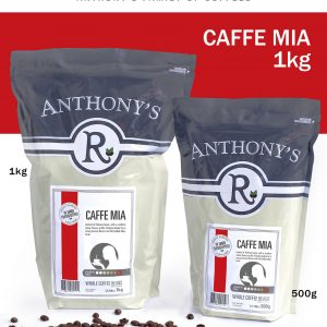 ANTHONY'S - Caffe Mia 1kg Whole Beans