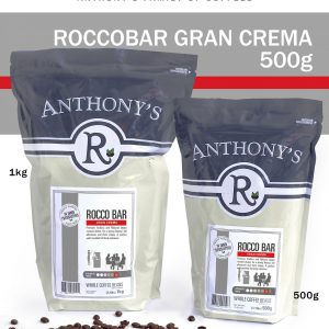 ANTHONY'S - Rocco Bar Gran Crema 500g Beans