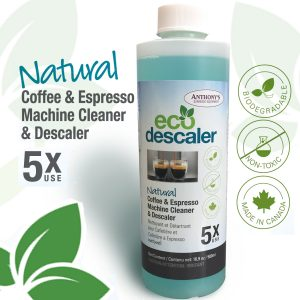ANTHONY'S - ECO Descaler Natural Espresso Machine Cleaner 5x USE