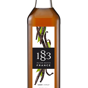 1883 Classic Syrup French Vanilla Flavour 1L Glass Bottle