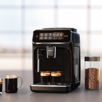 PHILIPS -  3200 Classic Milk Frother Series [PRE-ORDER]  EP3221/44 Fully Automatic Espresso Machine, Glossy Black *NEW*, 2 YEAR WARRANTY