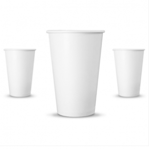 12oz Paper Cups (Black & Gold) (Sleeve of 50)