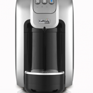 CAFFITALY - S07 Capsule Machine (WHITE/SILVER)