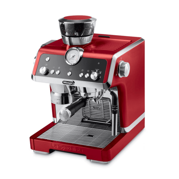 DELONGHI - La Specialista RED [IN STOCK] Espresso Machine with Sensor Grinder & Dual Heating System, Stainless Steel - EC9335R