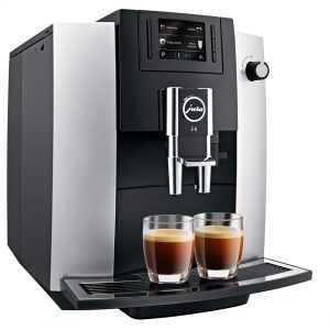 JURA - E6 Platinum Fully Automatic Espresso Machine [NOW IN STOCK]